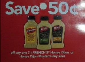 French's Dijon Mustard Coupon Save $0.50