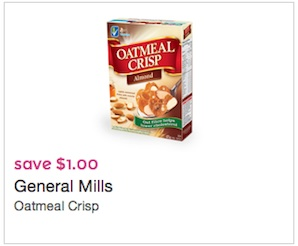 Oatmeal Crisp Cereal Coupon Save $1