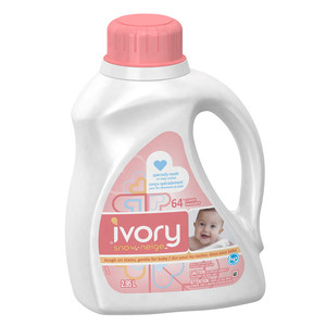 Ivory Coupon - Save on Ivory Snow Laundry Detergent for Baby Clothes