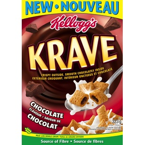 Kellogg's Krave Cereal Checkout 51 Cash Back