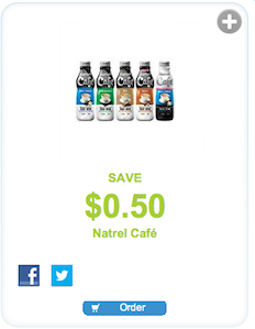 Natrel Cafe Coupon Save $0.50