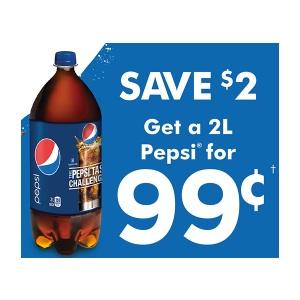 Pepsi Coupon 2013 - Save $2 on Pepsi 2L bottle
