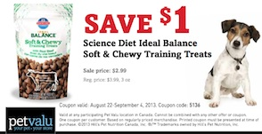 Dog Treats Coupon Science Diet Ideal Balance