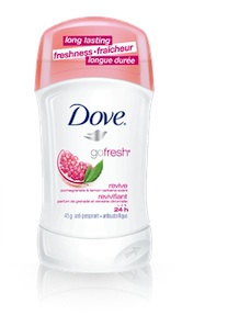 Dove Antiperspirant Deodorant Coupon Free Sample