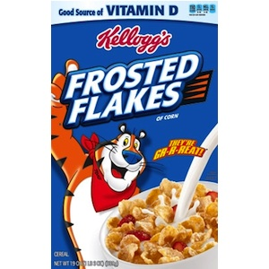 Checkout 51 Kellogg's Frosted Flakes Cereal cash rebate