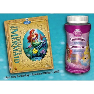 Disney Vitamins & BluRay coupon