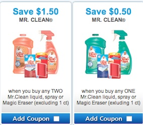 Mr. Clean Coupons - Save on Mr. Clean Cleaning products Canada