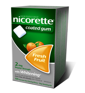 Quit smoking with Nicorette Product