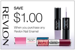 Revlon Coupon - Save $1 on Revlon Nail Art Nail Enamel