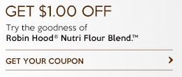 Robin Hood Nutri Blend Flour Coupon Save $1 Printable Coupon