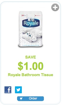 Royale Bathroom Tissue Coupon - Save $1  on Bathroom tissue