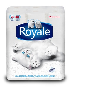 Royale Bathroom Tissue Coupon - Save money on Bathroom tissue