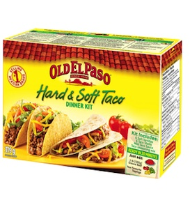 Old El Paso Coupon Save on Old El Paso Dinner Kits canada