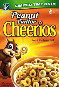 Cheerios Coupon - Save $0.50 on Peanut Butter Cheerios