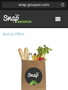 Snap Groupon Win free groceries for a year