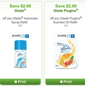 Glade Coupon Groceries Canada