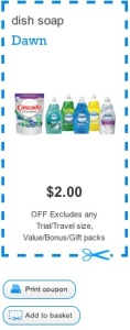 picture relating to Printable Dawn Coupons titled Sunrise Coupon - Conserve $2 upon Sunrise Dish Cleaning soap