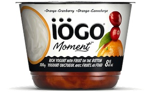 Iogo Coupon - Save $1 on Iogo Moment Yogurt Canada