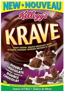Krave Coupon - Save $2 on Kellogg's Krave Cereal