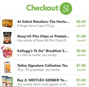 Checkout51 Grocery Rebates - July 23-29, 2015