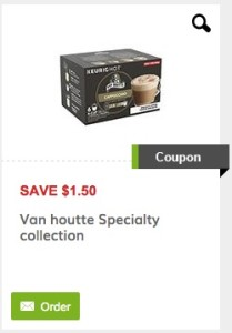 Coffee Van Houtte Specialty Coupon - Save $1.50