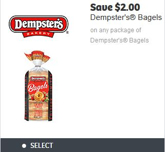 Dempster's 12 Grains Bagels 2015 Coupon Dempsters Bagels Coupon