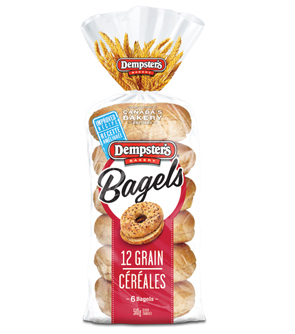 Dempsters Bagels Coupon 12 Grains Bagels